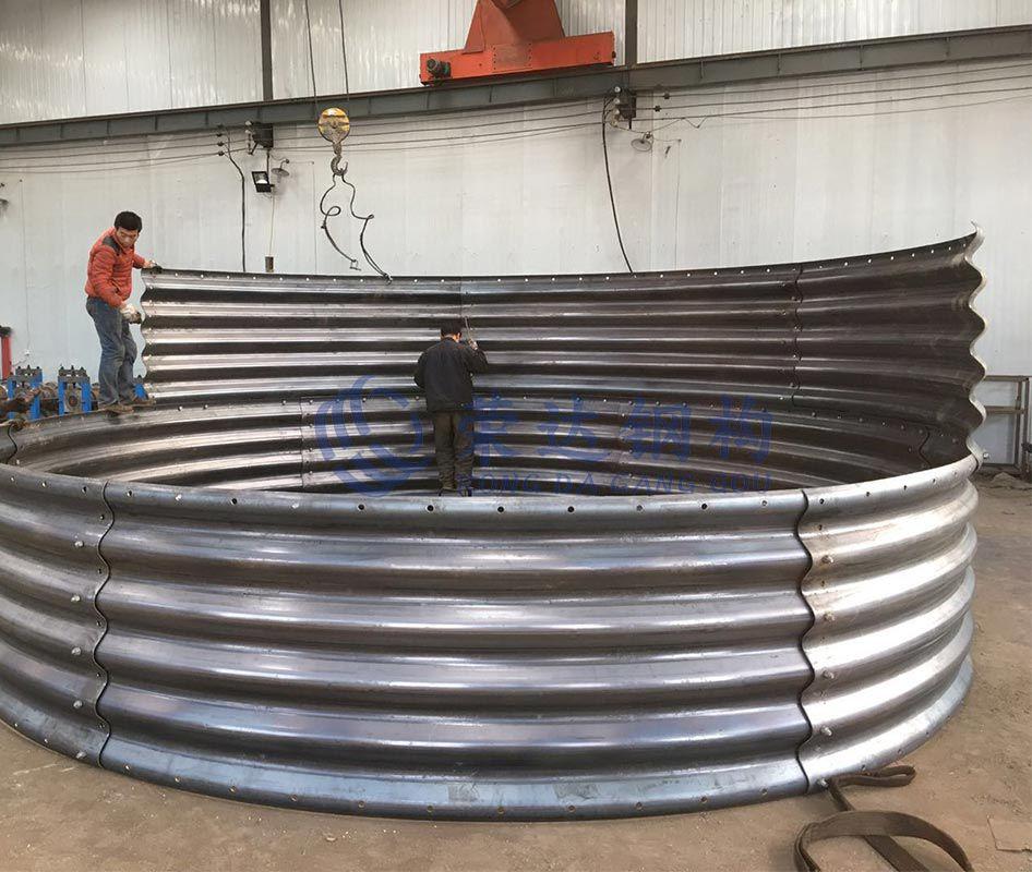 钢制波纹涵管