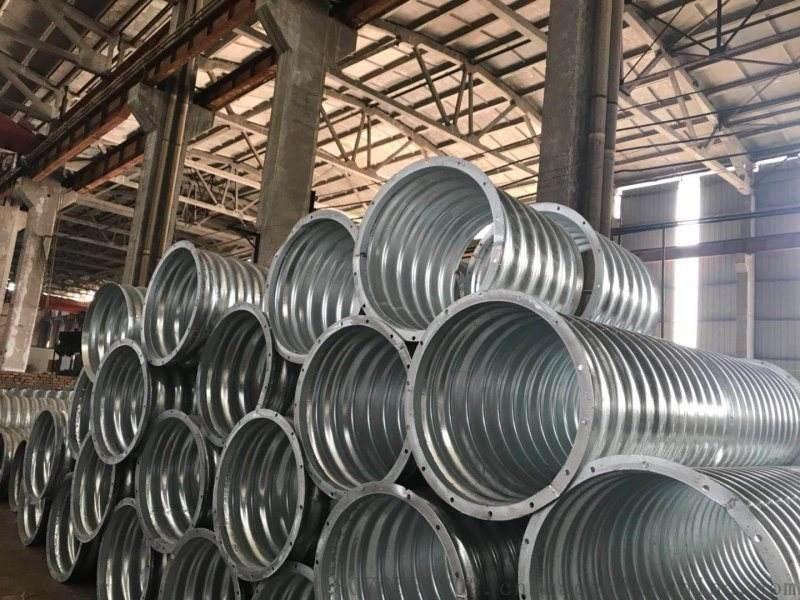 钢波纹管涵洞施工中对材料的要求有哪些?