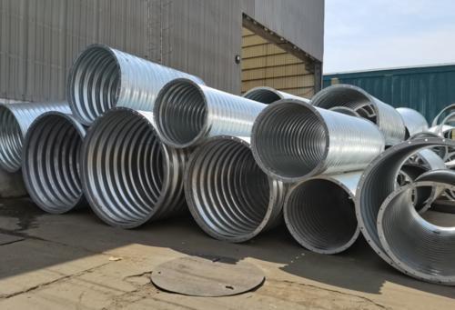 公路钢披纹管涵洞设计的必要性