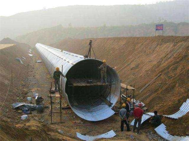 钢波纹管施工中基坑开挖和基底处理方法?