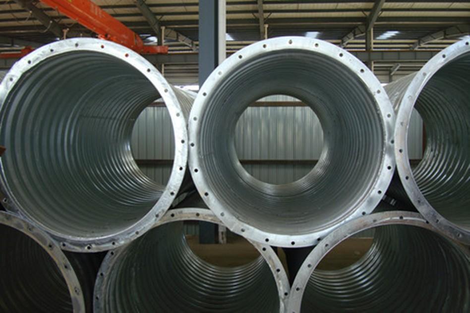 钢波纹管的构造及特性